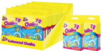 Pack of coloured chalks (Code 2408)